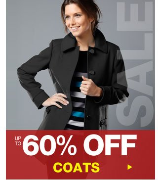 Up to 60% off Coats