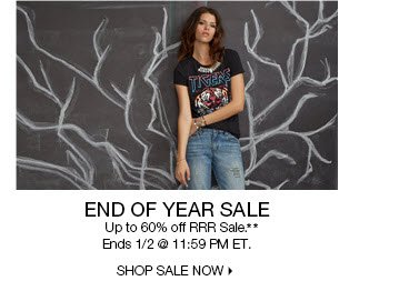 End of Year Sale**