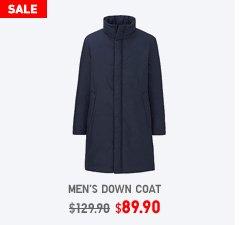 MEN DOWN COAT