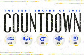 #15 To #11: Countdown Of 2013's Best Brands