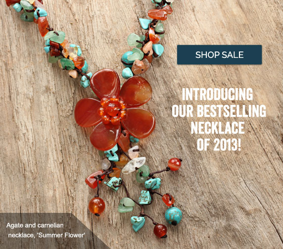 Introducing Our Bestselling Necklace of 2013! Shop Sale