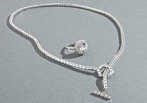 CZ Encrusted Jewelry