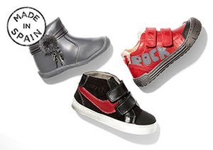 Made in Spain: Billowy Kids' Shoes