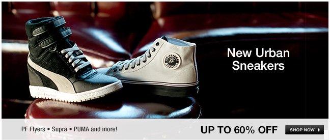 New Urban Sneakers