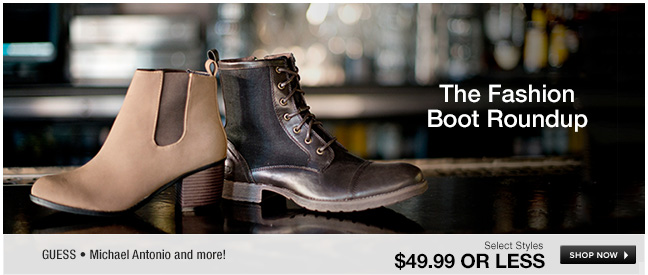 The Fashion Boot Roundup