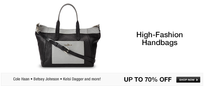 High-Fashion Handbags
