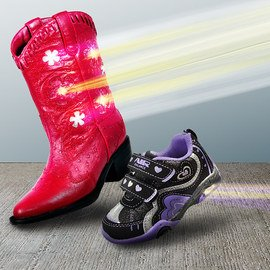 Kids in Motion: Light-Up Shoes