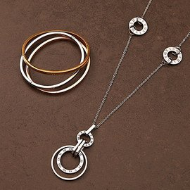 Metallic Moments: Women's Jewelry