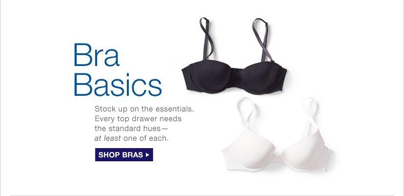 Bra Basics | SHOP BRAS
