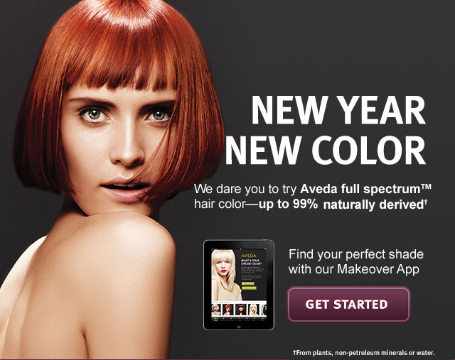 new year new color. get started.