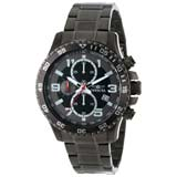 Invicta 14879 Men's Specialty Black Dial Gunmetal IP Steel Bracelet Chronograph Watch