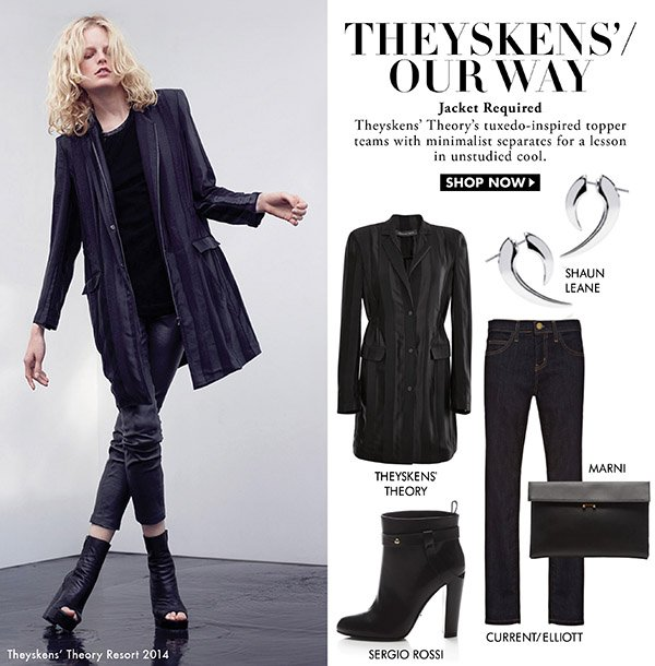 Theyskens' Theory - Runway Our Way