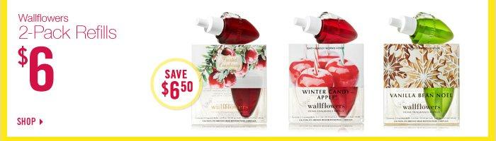 Wallflowers 2-Pack Refills – $6