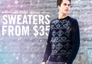 Shop Ski Lodge Special: Sweaters from $35