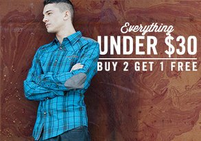 Shop Buy 2 Get 1 Free: ALL Under $30