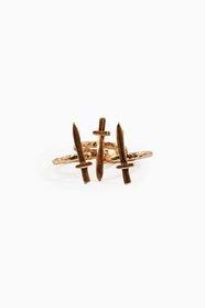 Tri-Dagger Rings