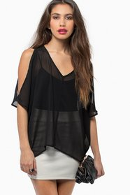 Slit and Slide Blouse