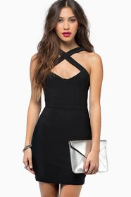 Captive Bodycon Dress