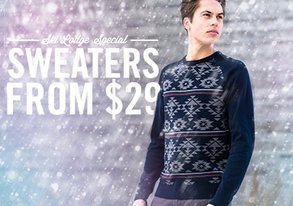 Shop Ski Lodge Special: Sweaters from $29