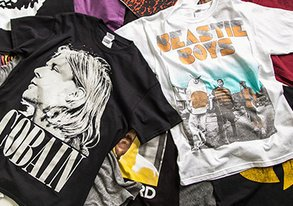 Shop Graphic Tees ft. Nirvana & Wu-Tang