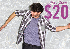 Shop Stock Up: Shirts starting at $20