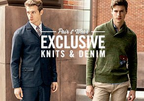 Shop Pair & Wear: Exclusive Knits & Denim