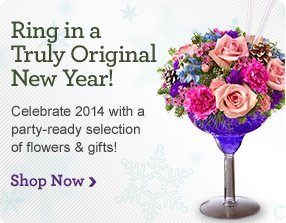 New Year's Flowers & Gifts Shop Now