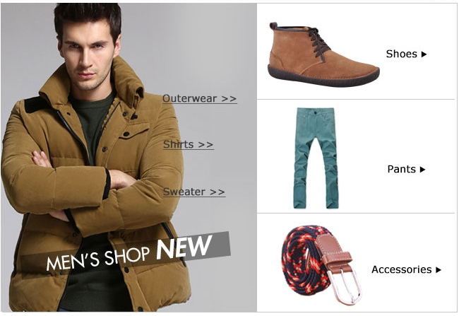 :MEN'S SHOP NEW