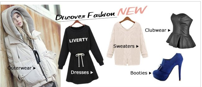 Discover Fashion NEW