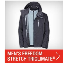 MEN'S FREEDOM STRETCH TRICLIMATE®