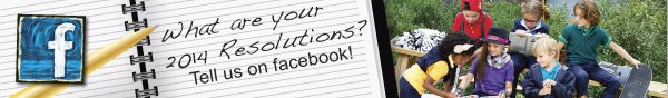 What are your 2014 resolutions? Tell us on Facebook