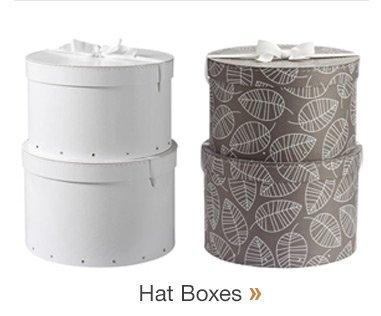 Hat  Boxes »
