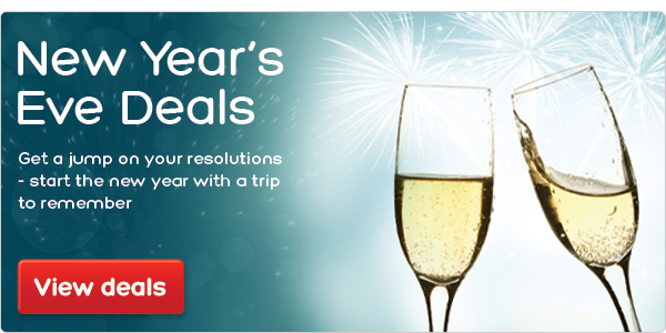 Great deals for New Year's Eve! Book now.