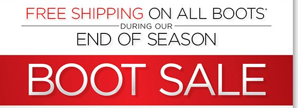 Find new markdowns on boots from your favorite brands with FREE Shipping!* Plus, save on great styles from UGG Australia, ABEO, ECCO and more during our End of Season Sale! Shop now for the best selection online and in stores at The Walking Company.