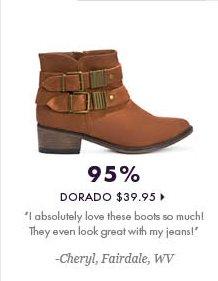 95% - Dorado - $39.95