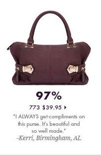 97% - 773 - $39.95