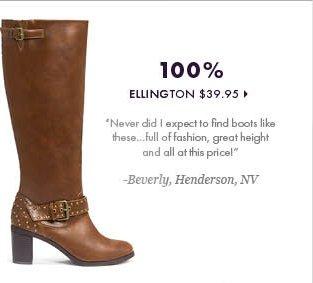 100% - Ellington - $39.95