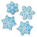 Snowflake Ice Cookie Favors