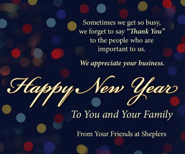 Happy New Year from Sheplers