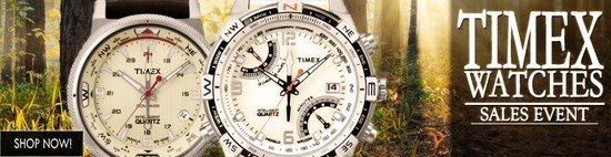 Save up to 49% during the Timex Watches sales event