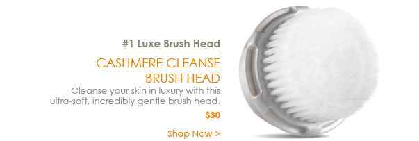 #1 Luxe Brush Head - Cashmere Cleanse Brush Head