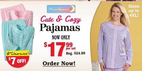 Cute and Cozy Pajamas