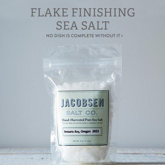 Flake Finishing Sea Salt