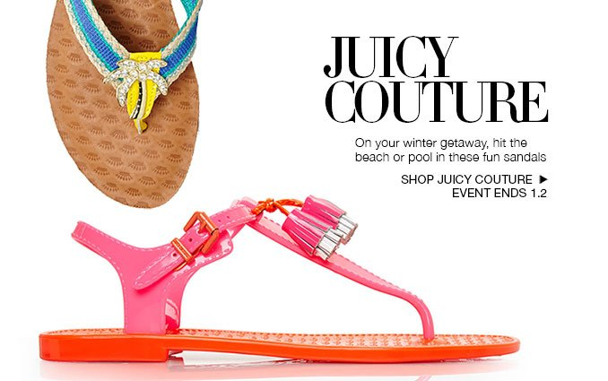 Shop Juicy Couture Pool Sandals for Women