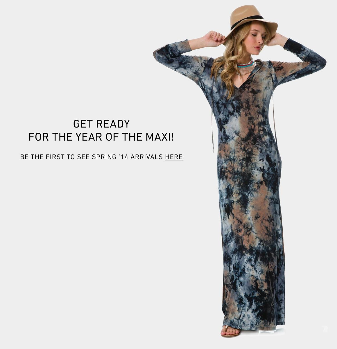 New Women's Maxi Dresses