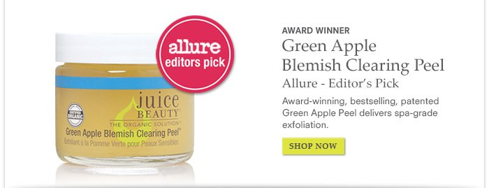 Award Winner - Green Apple Blemish Clearing Peel