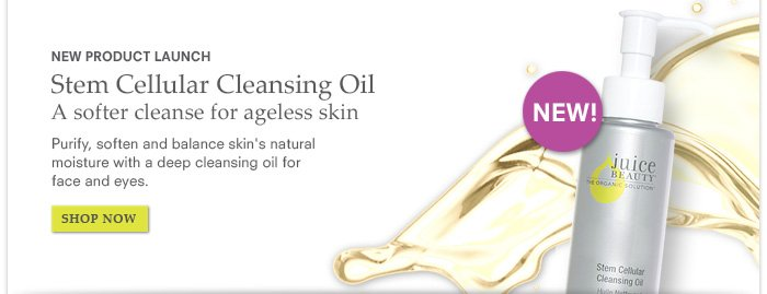 New Product Launch - Stem Cellular Cleansing Oil