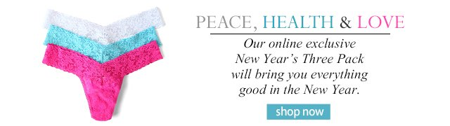 Peace, Health, and Love! Exclusive 3 pack