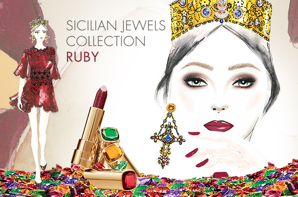 Sicilian Jewels Collection - Ruby