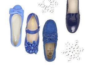 Winter Blues: Kids' Shoes